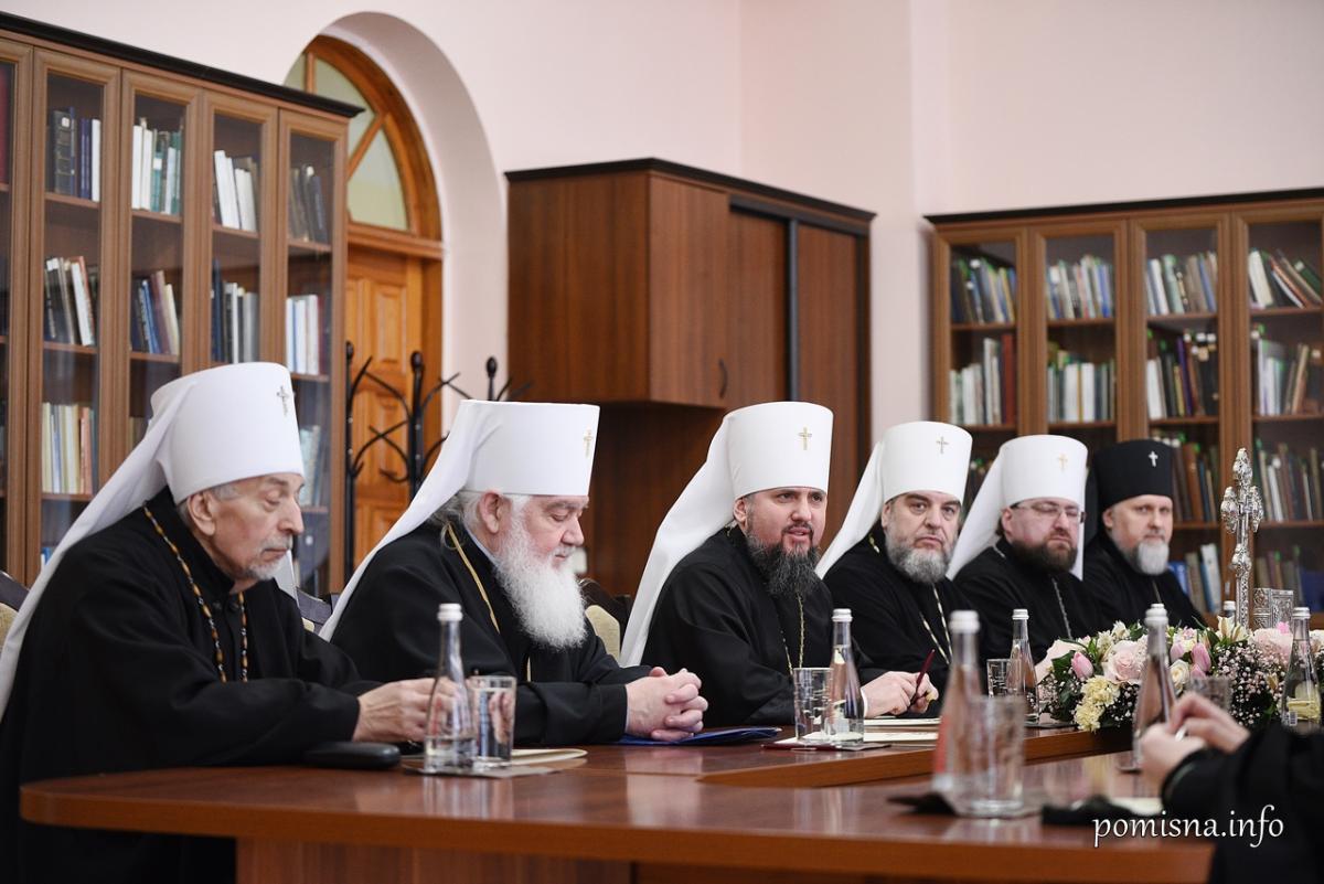 ПЦУ провела Синод / фото pomisna