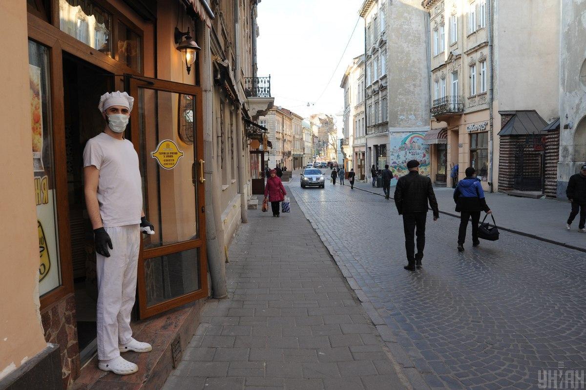 Отныне на Львовщине действует режим чрезвычайной ситуации / фото УНИАН