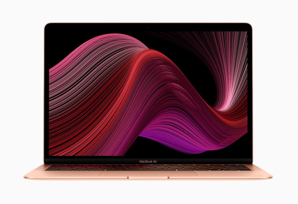 Apple обновила MacBook Air / фото Apple