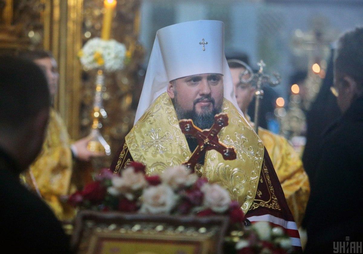 Metropolitan Epifaniy / Photo from UNIAN
