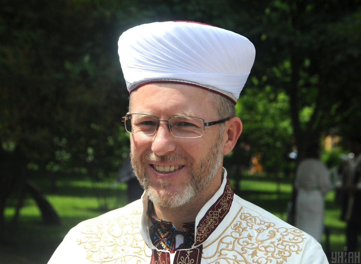 Муфтий духовного управления мусульман Украины Саид Исмагилов / фото УНИАН