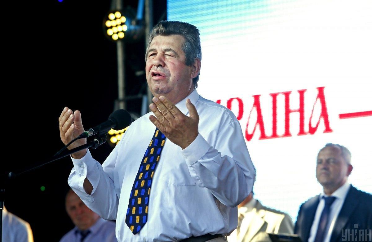 Старший пресвитер Киевского объединения церквей ЕХБМихаил Андрашко / фото УНИАН