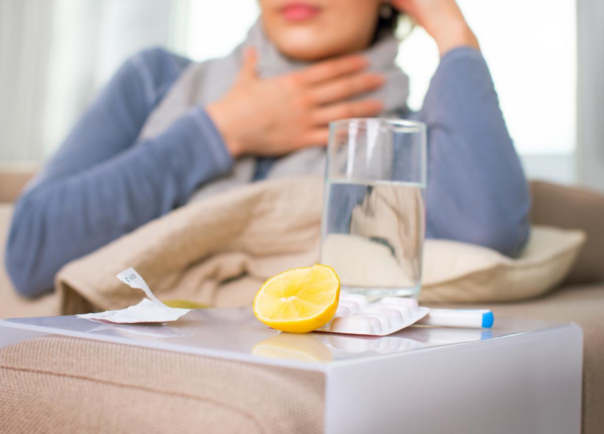 В Киеве на 20% выросло количество больных гриппом и ОРВИ по сравнению с предыдущей неделей / фото ua.depositphotos.com