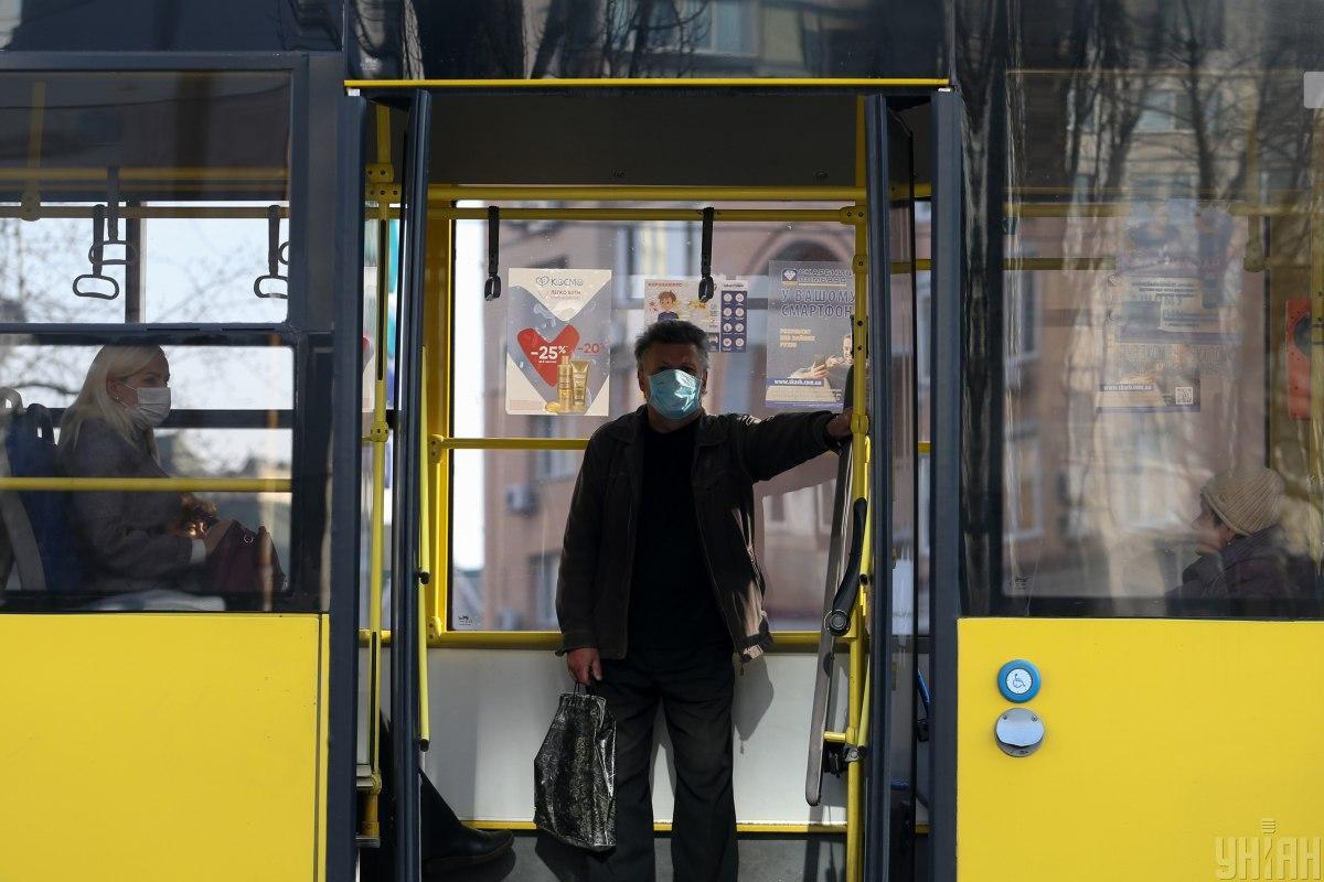 С завтрашнего дня вКиевібудут действовать спецпропуска для поездки в городском транспорте / фото УНИАН
