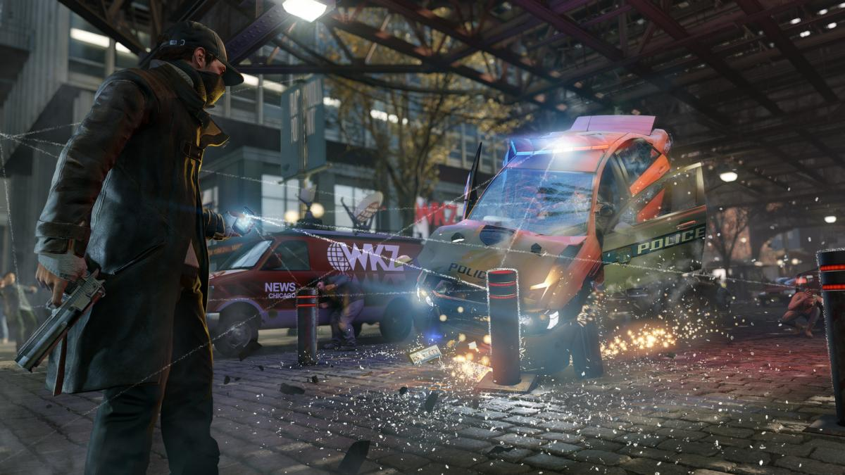Кадр з гри Watch Dogs / store.steampowered.com