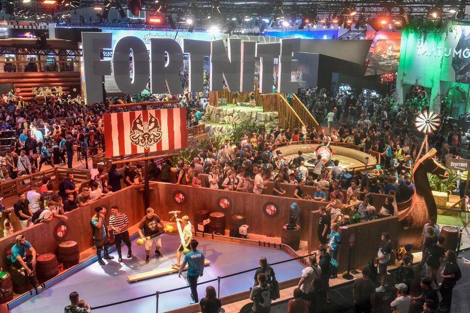 Прошлогодняя выставка Gamescom в Кельне / gmx.at