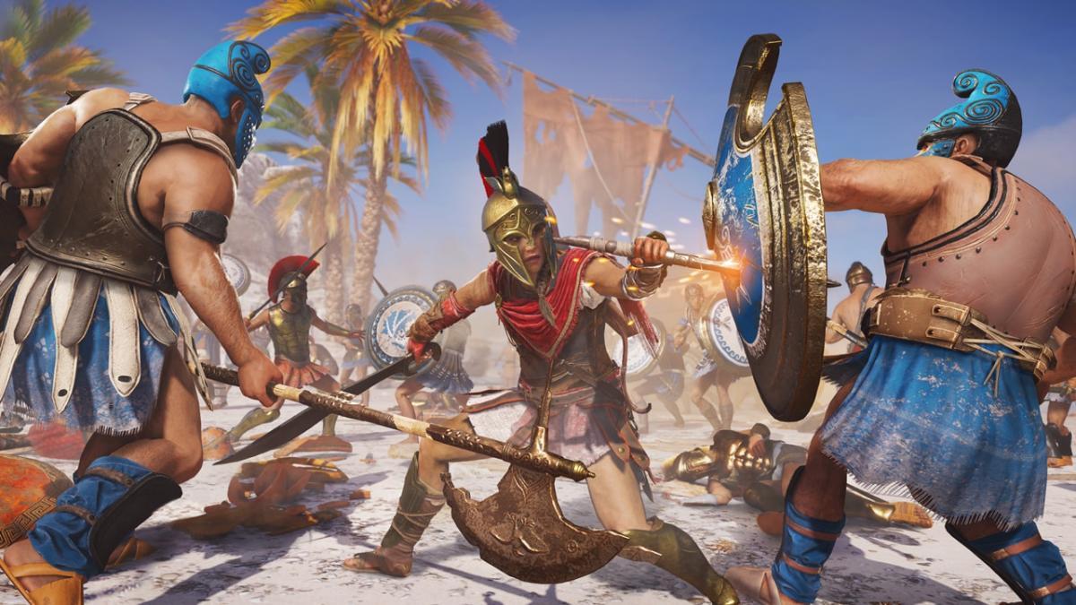 Игру Assassin's Creed Odyssey временно сделали бесплатной / store.playstation.com