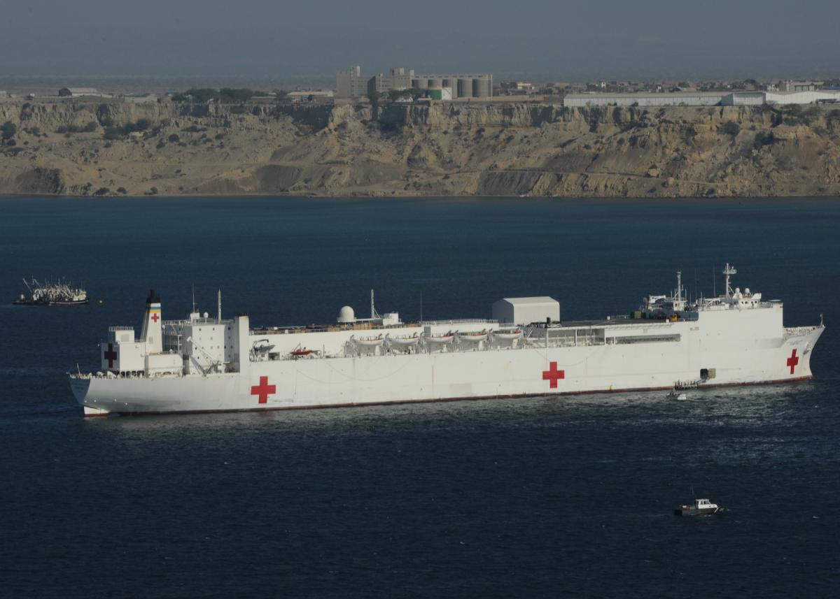 ВМС США відправлять два корабля на боротьбу з коронавірусом/ Wikimedia.org