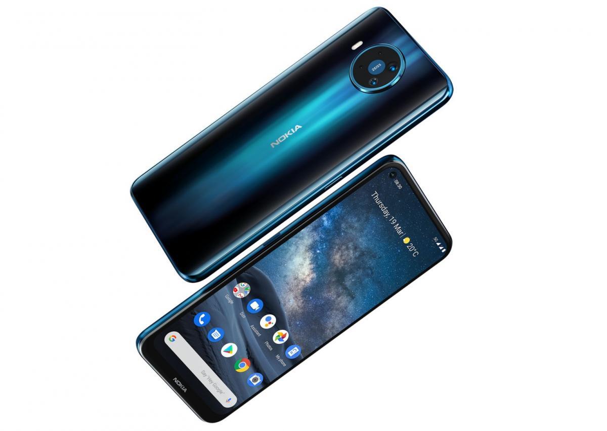 Смартфон Nokia 8.3 5G поступит в продажу летом по цене 599 евро / фото Nokia