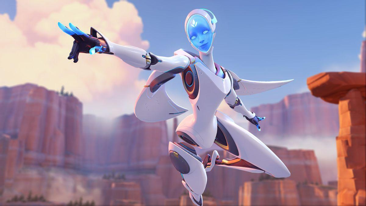 Новый персонаж в Overwatch - робот Эхо / polygon.com