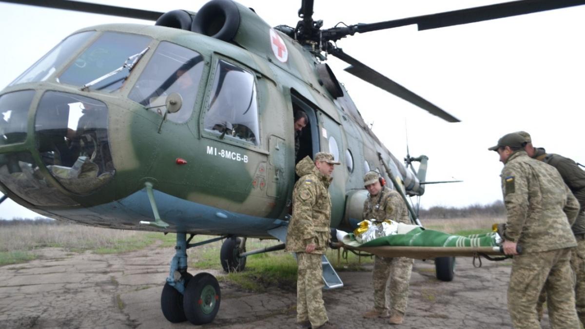 Бійці з різними травмами госпіталізовані у дві лікарні / dp.informator.ua
