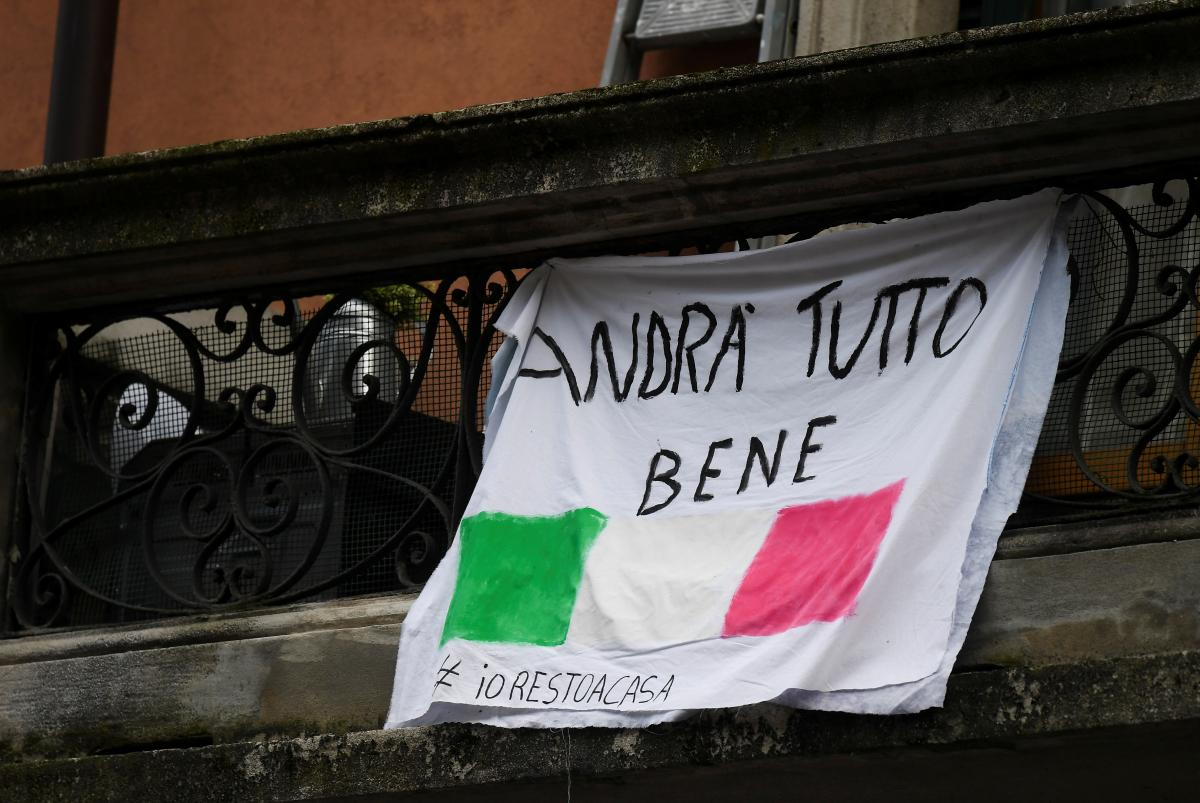 The situation in Italy is critical / REUTERS