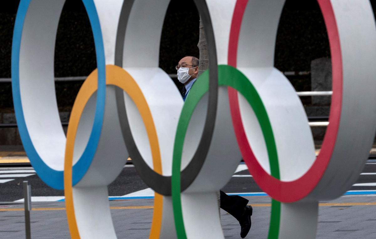 Олимпийские кольца в Токио / REUTERS