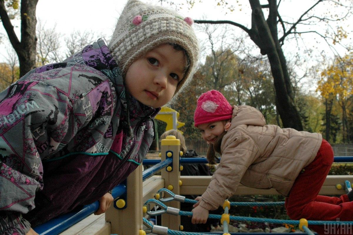 В столице на время карантина запретили детские площадки / Фото: УНИАН