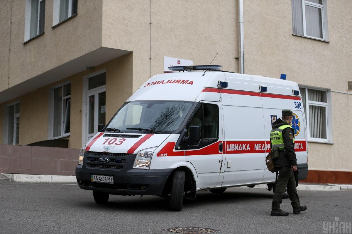 После оказанной врачом помощи, ребенка госпитализировали / фото УНИАН