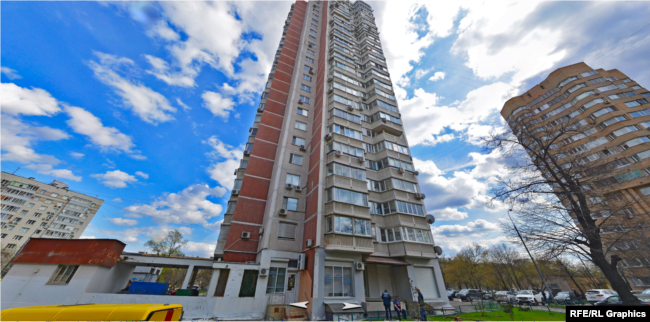 The minister's wife owns a third in a Moscow-based flat / Photo from radiosvoboda.org
