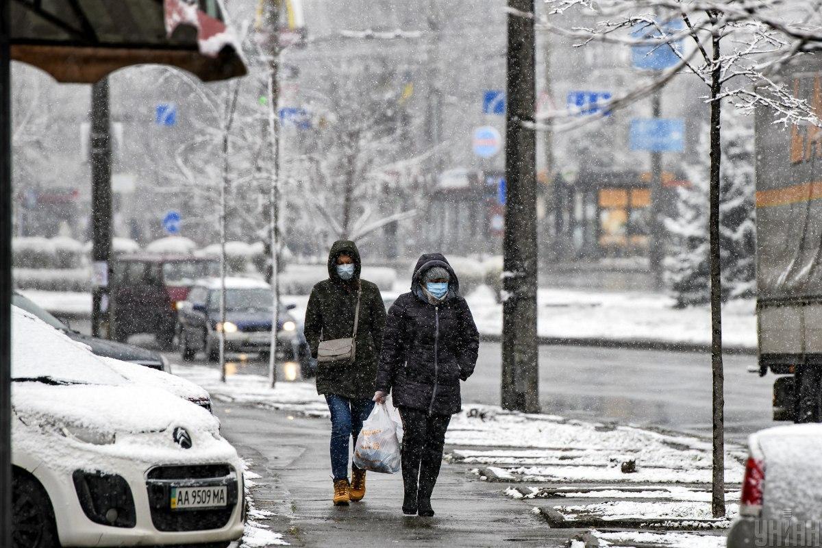 Киев на карантине / фото УНИАН