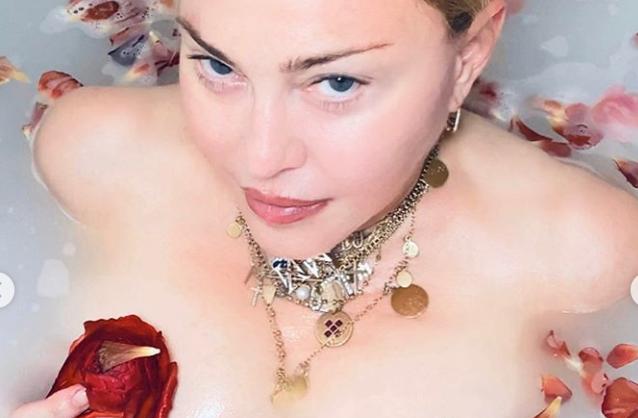 Мадонна в ванной рассказала, что думает о коронавирусе / instagram.com/madonna