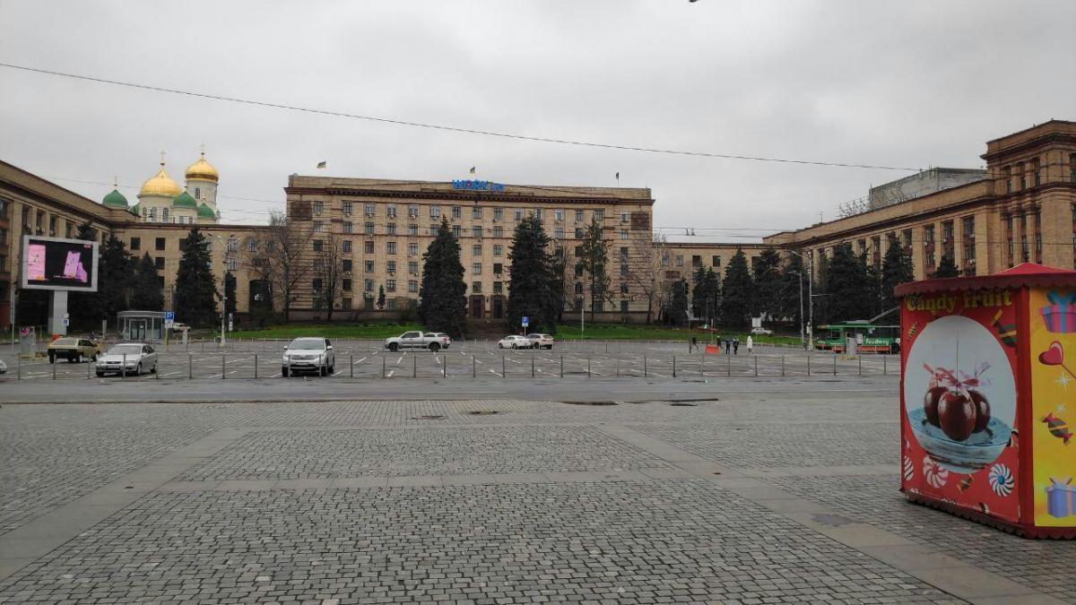 Въезд до Днепра ограничат / фото nashemisto.dp.ua