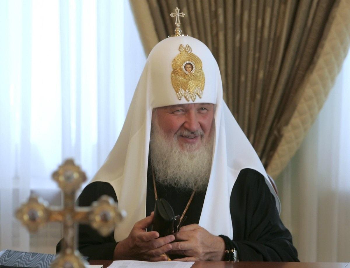 Російський патріарх Кирило закликав не ходити до церкви / фото УНІАН