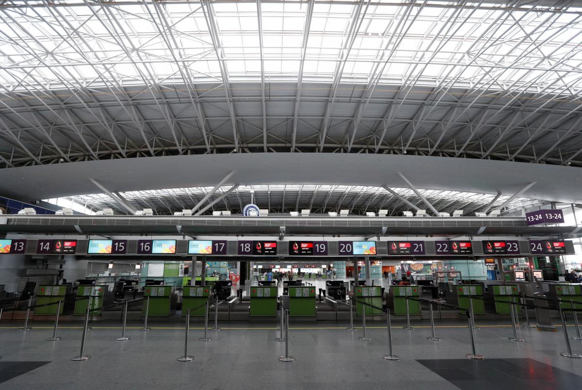 Правительство закрыло работу всех аэропортов в стране, кроме «Борисполя» / REUTERS