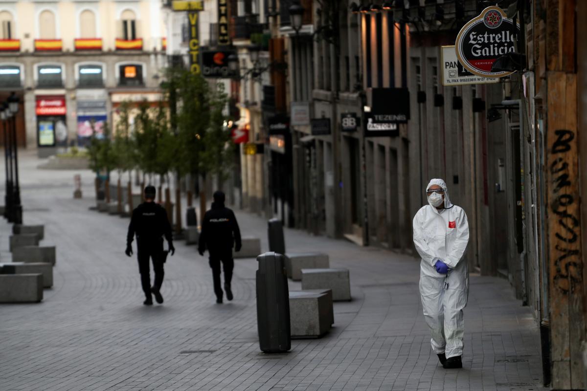 В Іспанії вводять нові заходи карантину / Ілюстрація REUTERS