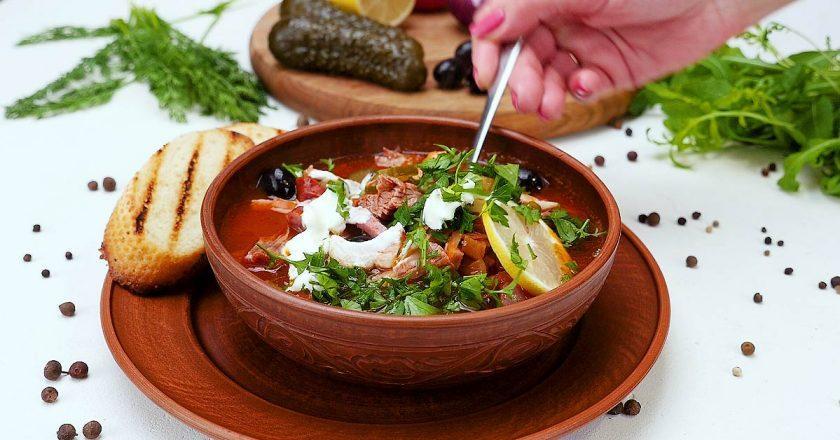 Солянка м'ясна рецепти приготування / Фото: sovkusom.ru