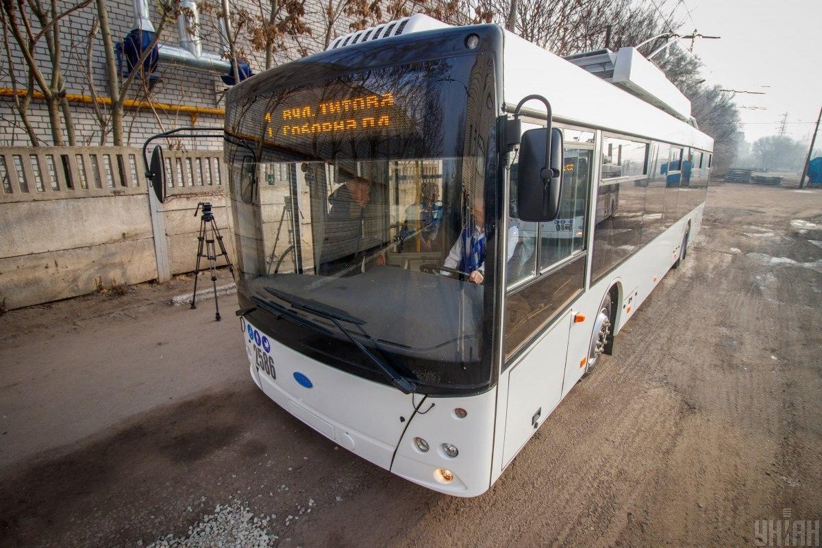 Днепр ограничивает работу транспорта / фото УНИАН