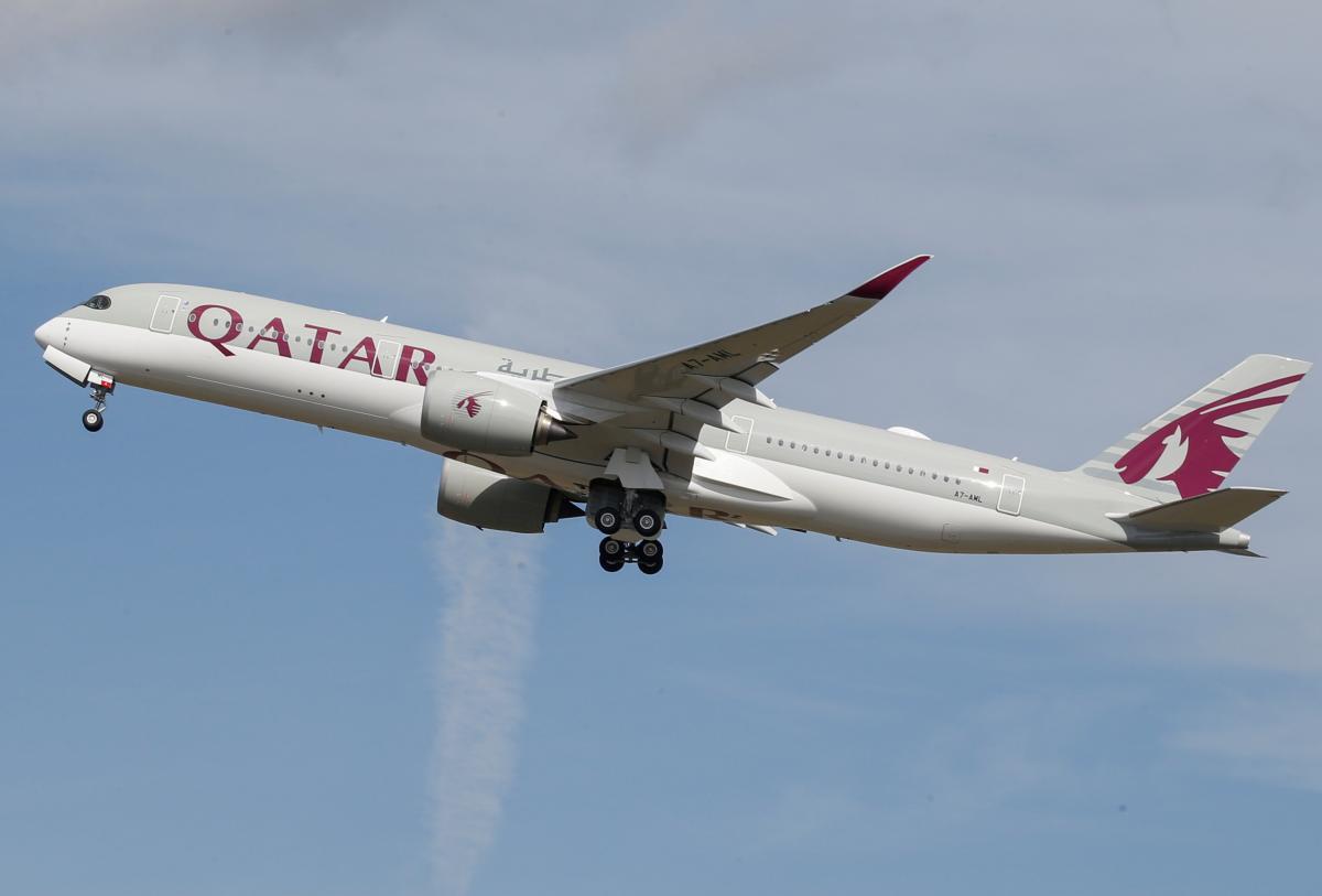 Qatar Airways возобновила полеты в Украину / REUTERS