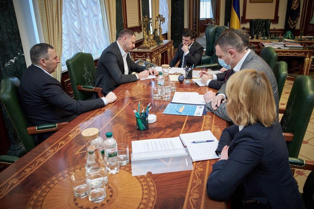 Зеленский провел селекторное совещание / фото ОП