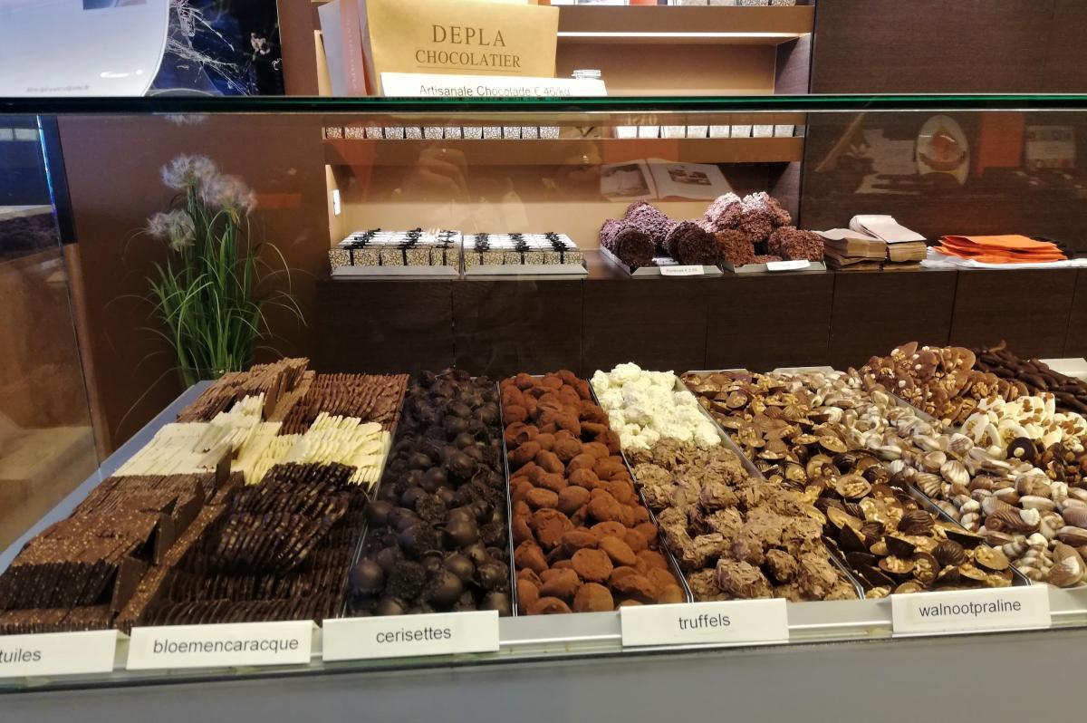 Бельгийский шоколад и правда очень вкусный / Фото Марина Григоренко