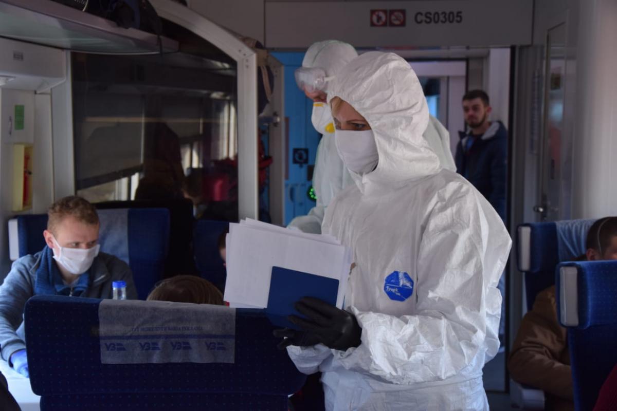 Від деяких іноземців Українане вимагатимеПЛР-тести на COVID-19 / фото ДПСУ