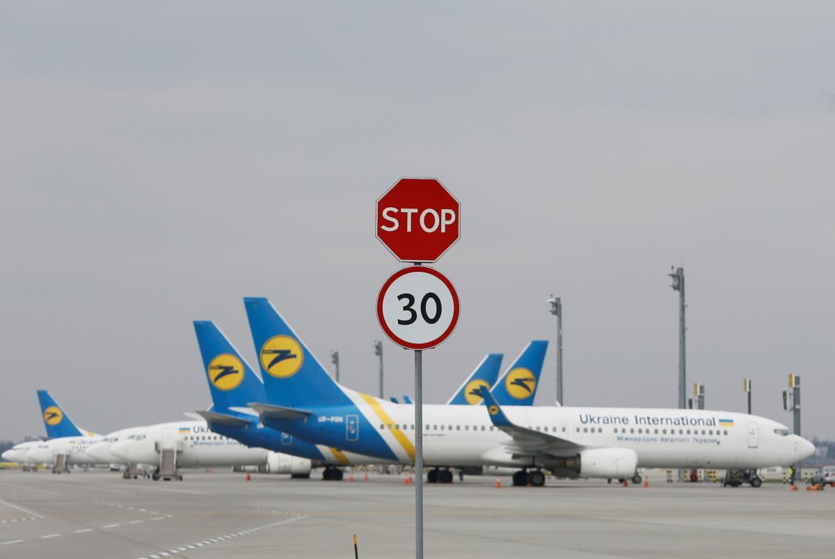 Авиакомпани МАУ вынуждена была уйти в вынужденный простой из-за карантина/ Фото REUTERS
