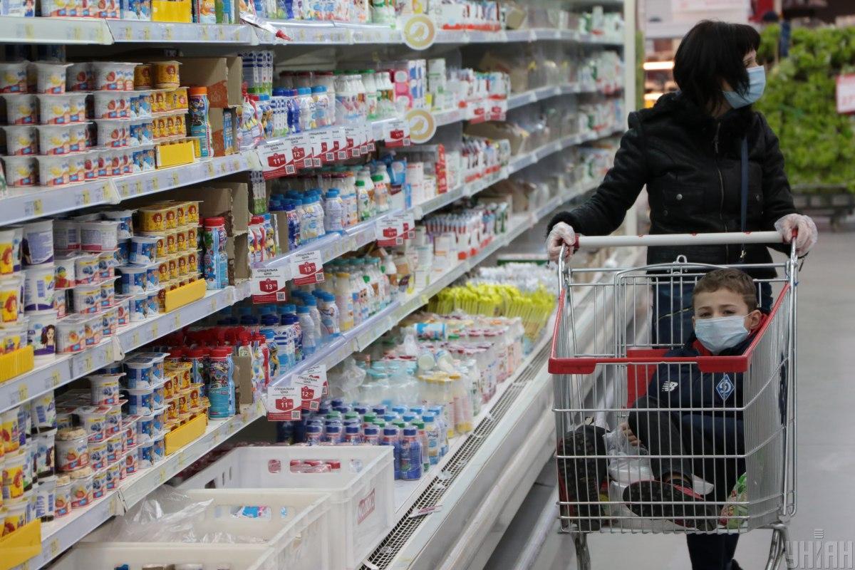 Інфляція на споживчому ринку у квітні у порівнянні з березнем 2021 року склала 0,7% / Фото УНІАН Володимир Гонтар