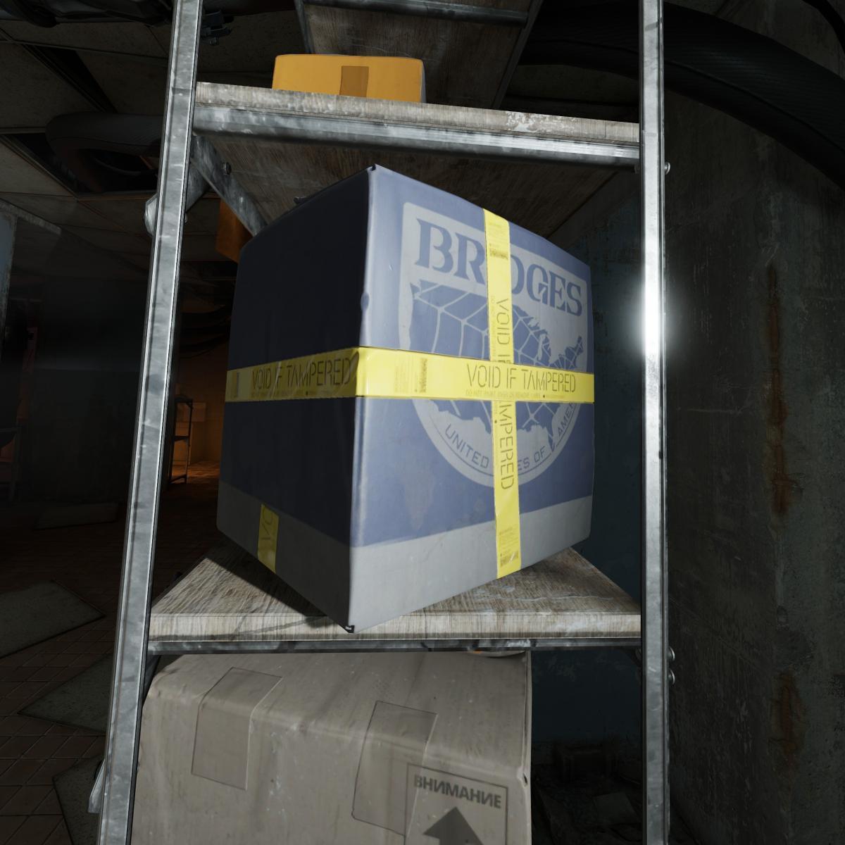 В Half-Life: Alyx нашли коробкe с логотипом компании Bridges / reddit.com