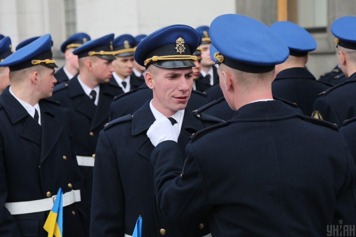 День Нацгвардії - це професійне свято, всіх військовослужбовців і цивільного персоналу Нацгвардії \ УНІАН