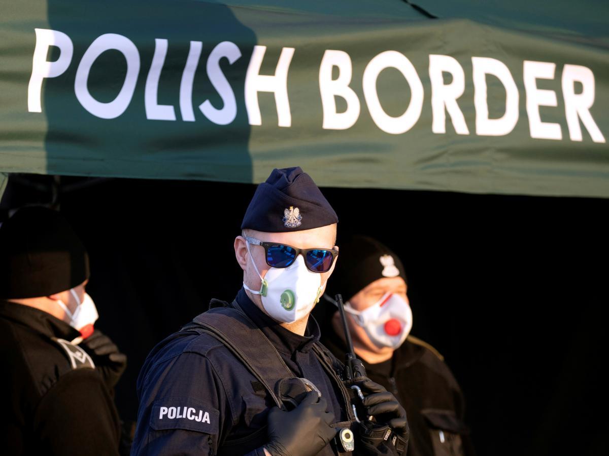 Польская граница / REUTERS