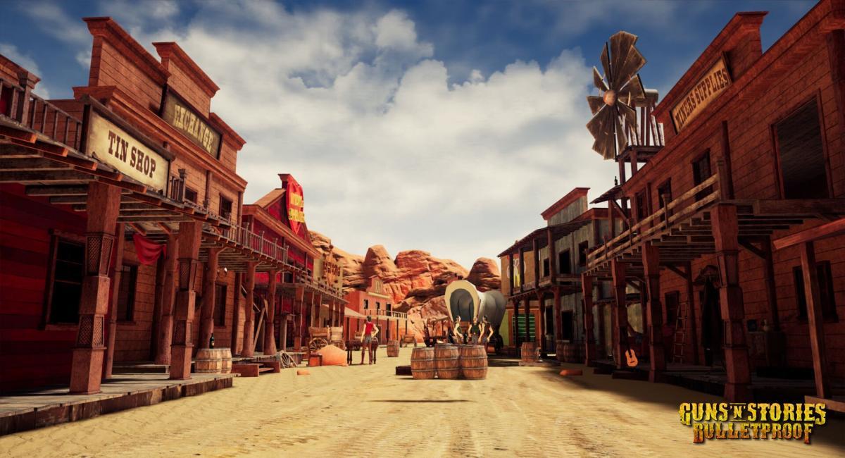 Кадр з гри Guns 'n' Stories: Bulletproof VR / скріншот