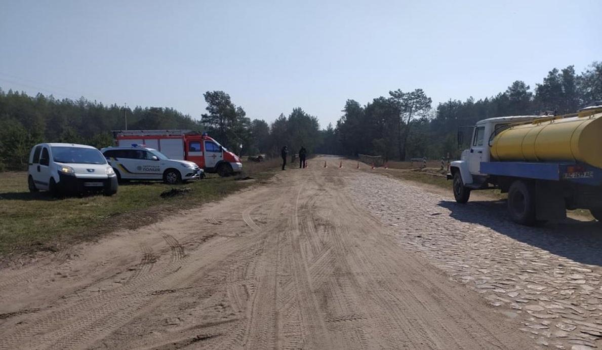 Сейчас село покидать запрещено / фото rivne1.tv