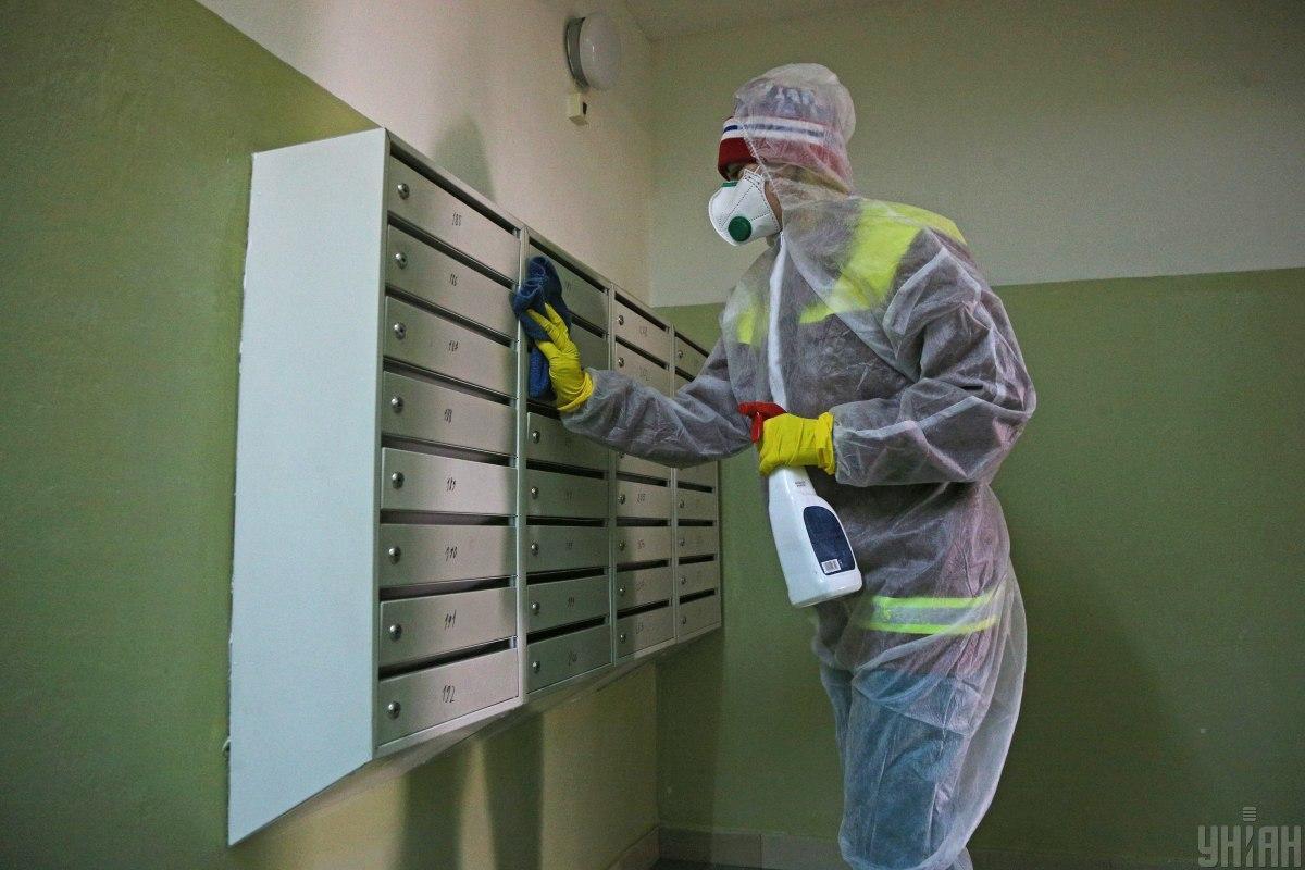 Украина борется против распространения коронавируса / фото УНИАН