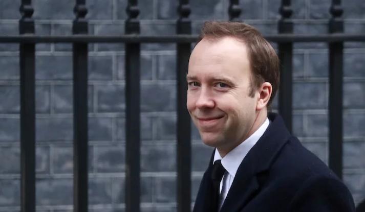 Министр здравоохранения Великобритании Мэтт Хэнкок \ REUTERS