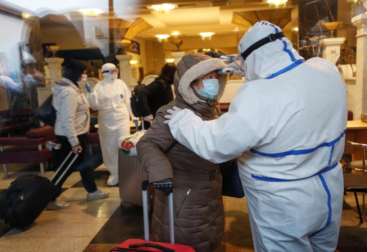 Коронавирус / REUTERS