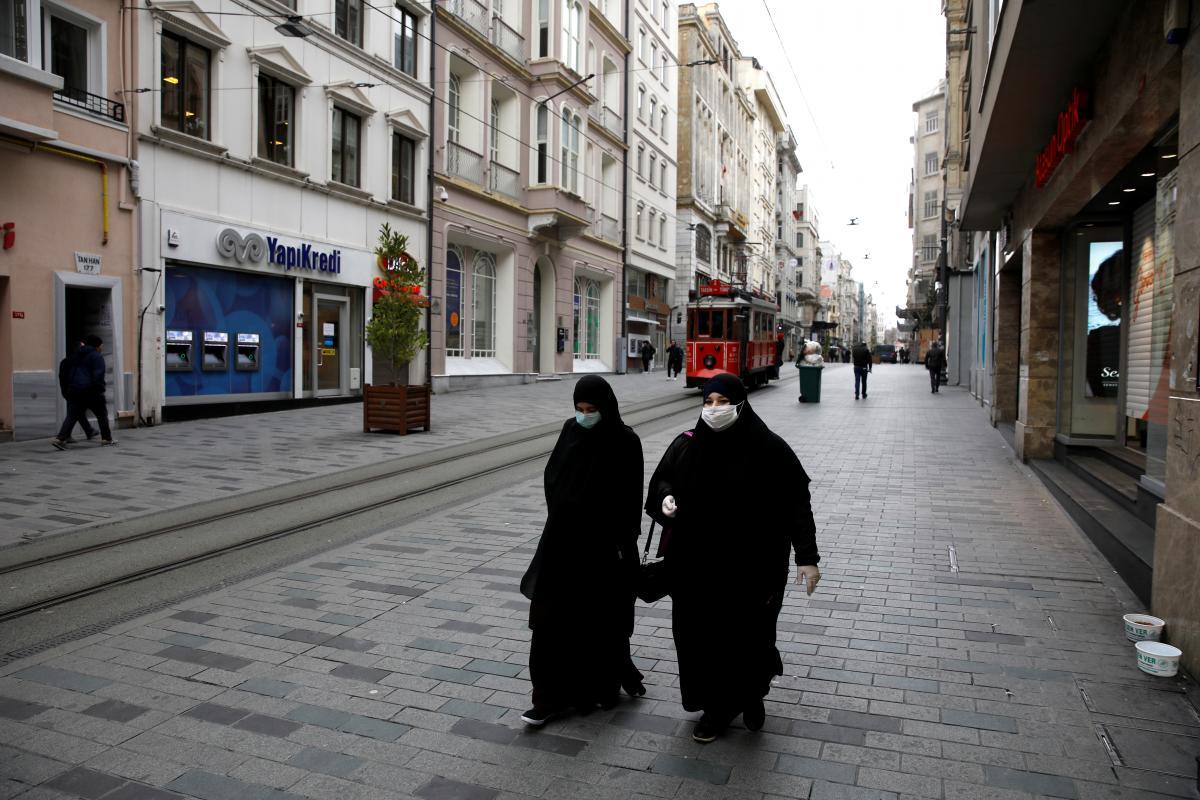 В Турции усилили комендантский час / фото REUTERS