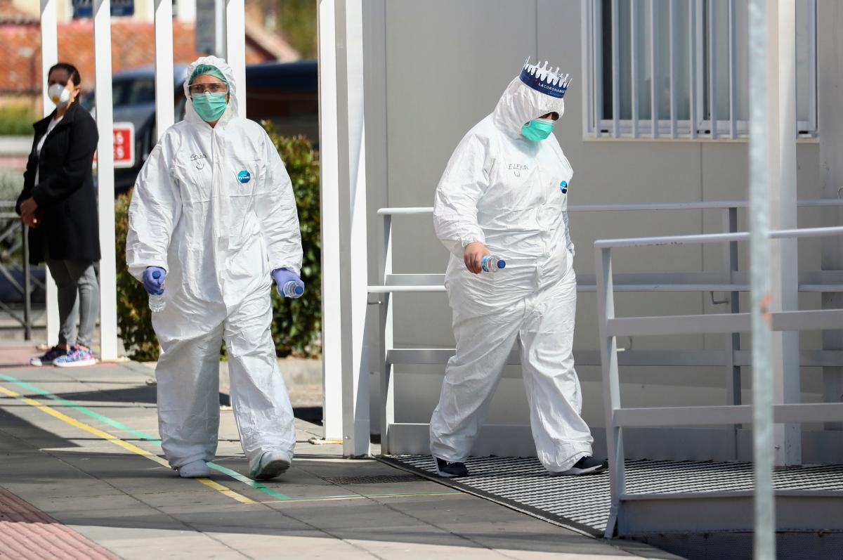 Ситуація з коронавірусом в Іспанії на 1 квітня залишається критичною/ Ілюстрація REUTERS