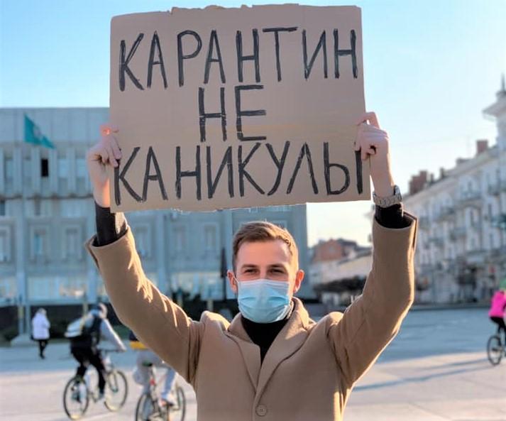 Хирург Дмитрий Сичненко призвал сидеть дома / фото Facebook/Дмитрий Сичненко