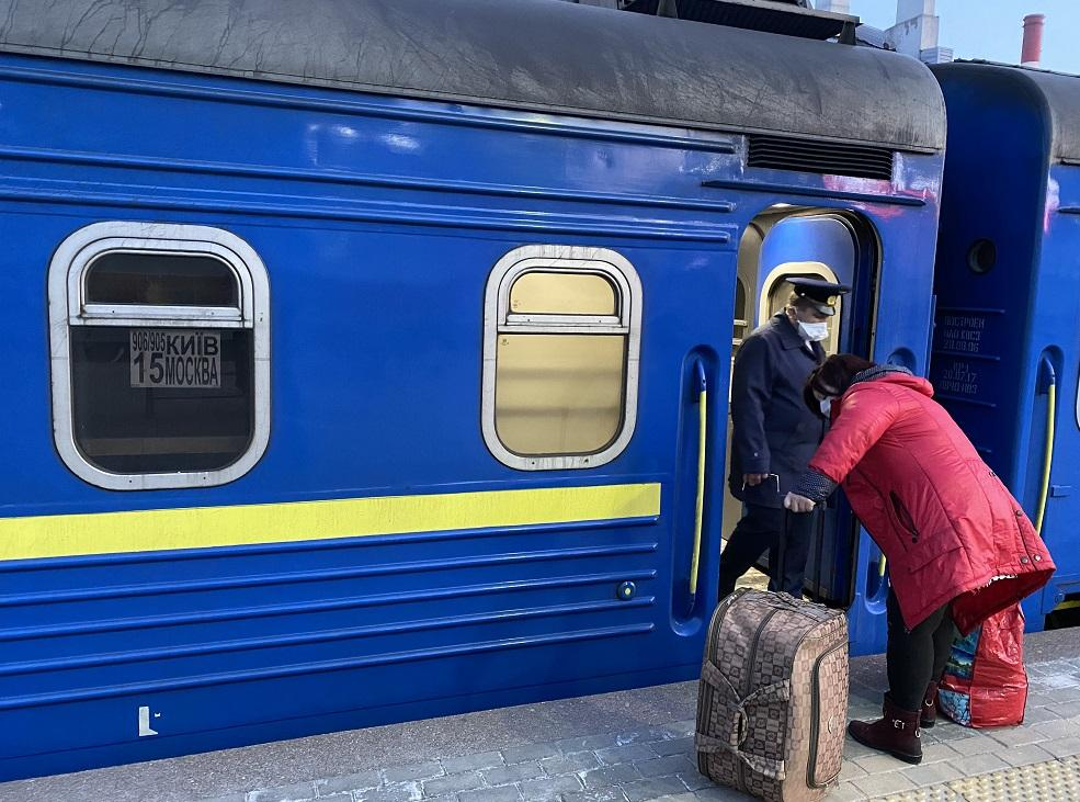 Наполнение вагонов - 100-процентное, но выехать на родину смогли не все \ Роман Цимбалюк