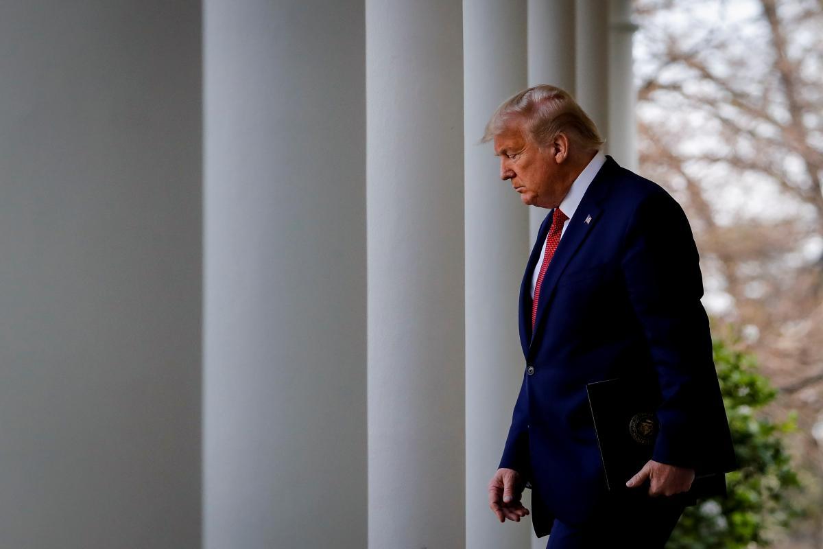 Конгресс США объявил импичмент Трампу / фото REUTERS