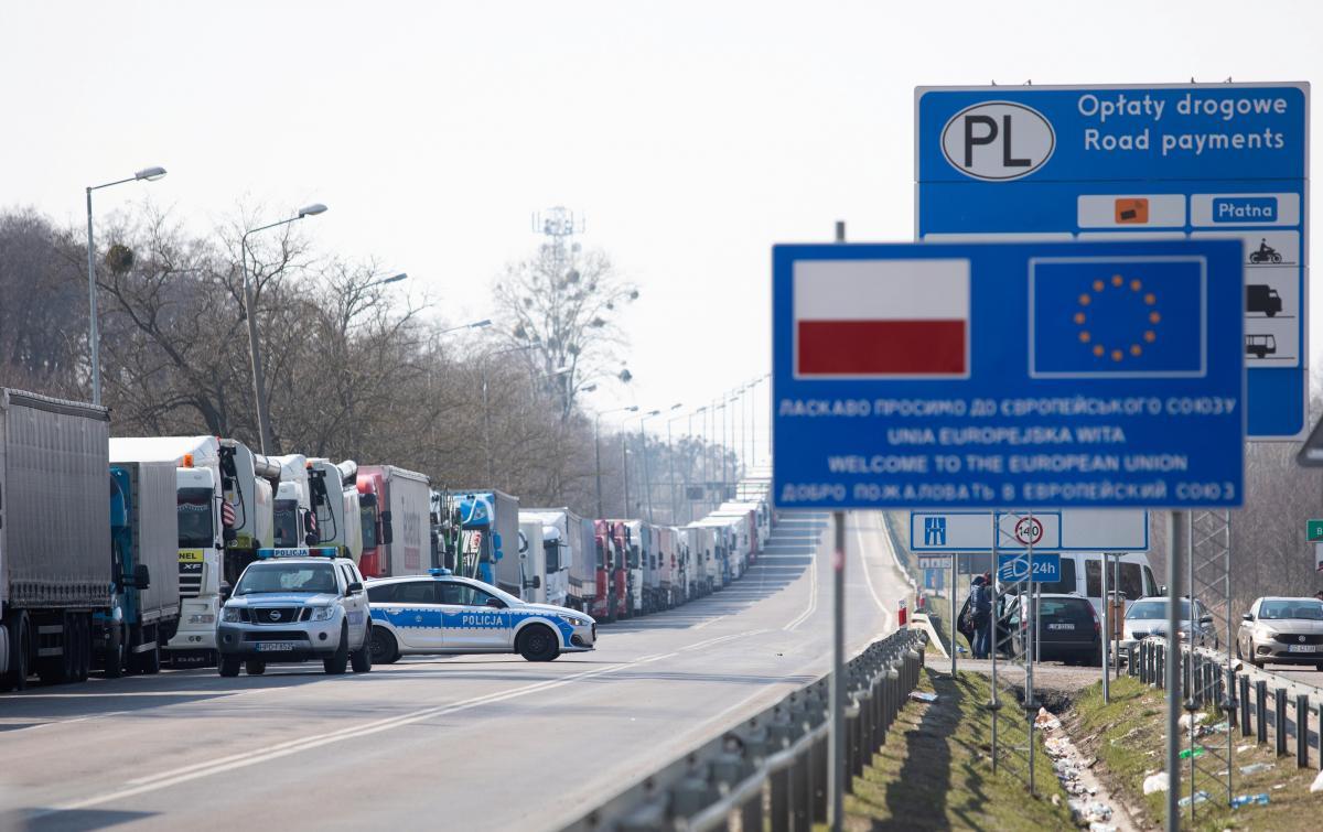 Польша изменила правила въезда для украинцев / иллюстрация REUTERS