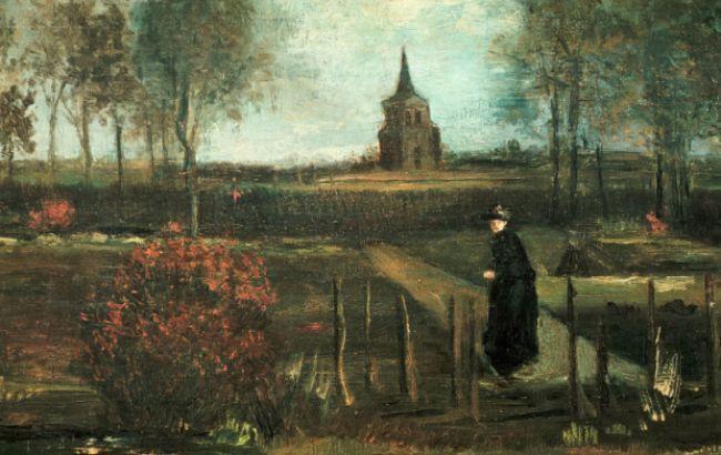"Картина Ван Гога ""Весенний сад"" / фото: wikimedia.org"