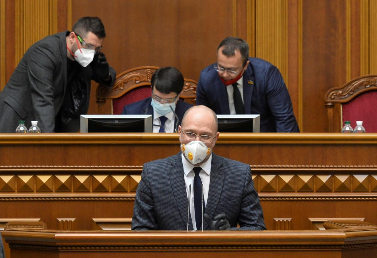 На заседании Рады 13 мая Шмыгаль не смог ответить на вопрос о создании 500 тысяч рабочих мест/ REUTERS